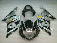 SUZUKI GSX-R 1000 2000-2002 K1 ABS Fairing - Gray/Black