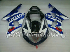 SUZUKI GSX-R 1000 2000-2002 K1 ABS Fairing - Blue/Black/White