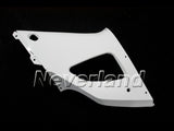 Unpainted Raw Right Upper Side Panel Fairing Fit For Yamaha YZF 1000 R1 2000-2001