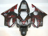 Honda CBR600 F4i 2001-2003 ABS Fairing - Red Flame