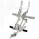 Racing Adjustable Rearsets Footpegs Rear Set For Honda CB1000R 08-16 09 10 11 12