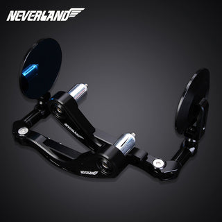 CNC Motorcycle 7//8 Handle Bar End Rearview Mirrors Universal For Honda Yamaha