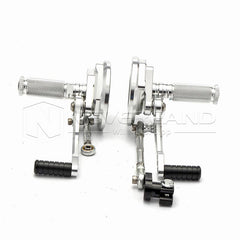Adjustable Rearset Racing Footpegs Rear Set Pedal For Yamaha VMAX 1700 09-16 15