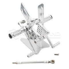 CNC Rearset Foot Pegs Rest Adjustable Racing for Suzuki GSXR600/750/1000 SV650/S
