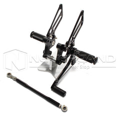 CNC Rearset Rear Set Foot Pegs Footrest for Ducati 749 999 All Years Motorcycle