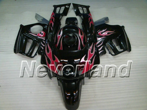 Honda CBR600 F3 1997-1998 ABS Fairing - Black/Red