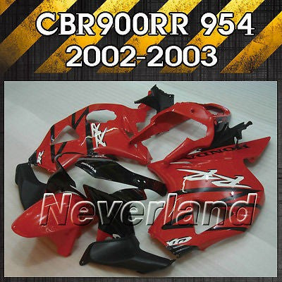 Bodywork Fairing Kit For 02-03 Honda CBR 900 RR 954 2002 2003 CBR900RR Injection