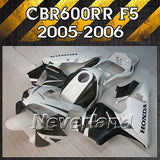 Fairing Kit for 2005-2006 Honda CBR600RR F5 05-06 600RR Injection ABS Bodywork