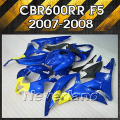 Fairing Kit for Honda CBR600RR 2007 2008 Injection ABS Bodywork