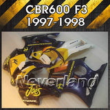 Fairing Mold For Honda CBR 600 F3 CBR600 1997 1998 ABS Bodywork Injection Mold