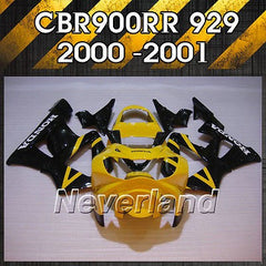 Bodywork Fairing Kit for 2000 2001 Honda CBR900RR CBR929RR Fireblade Injection