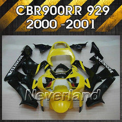 Fairing for 2000 2001 Honda CBR900RR CBR929RR 00 01 Fireblade Bodywork Injection