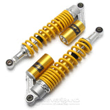 "2X 15""/380mm Motorcycle Scooter Rear Suspension Air Shock Absorber Spring Parts"