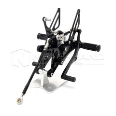 Adjustable Rearset Footrest Footpegs Rear Set For Yamaha YZF-R1 2004 2005 2006