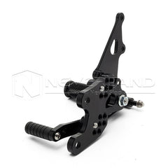 Adjustable CNC Racing Foot Pegs Rearset Rear Set For HONDA CBR600RR 2003-2006