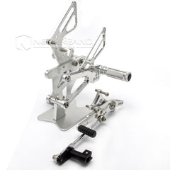 New Rearsets Rear Set Foot Pegs For TRIUMPH DAYTONA 675 / STREET TRIPLE 2012