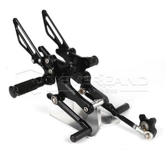 Adjustable Rearsets Foot Pegs Rear Set Footrests For Honda CB1000R 08-16 09 10
