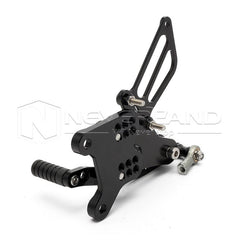 Adjustable CNC Racing Foot Pegs Rearset Rear Set For HONDA CBR600 F4i 01-07