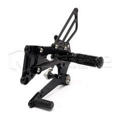 CNC Racing Foot Pegs Pedals Rearset Rear Set For BMW S1000RR ABS/HP4 09-14 Black