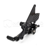 For YAMAHA FZ1/FZ1 Fazer 06-16 Adjustable CNC Foot Pegs Rearset Rear Set Pedals