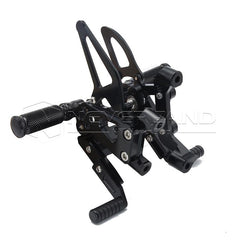 CNC Rear Set Adjustable Rearsets Foot Pegs Footrests For Ducati 1199 PANIGALE/S