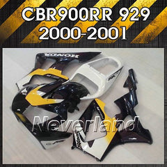 Fairing for 2000-2001 Honda CBR900RR 00 01 CBR929RR Injection Bodywork Kit ABS
