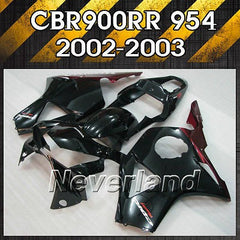 Fairing for 2002-2003 Honda CBR900RR CBR954RR Bodywork Injection Kit 02 03 ABS