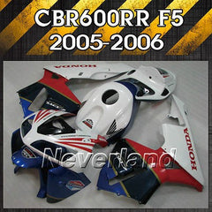 Bodywork Fairing Kit for 2005 2006 Honda CBR600RR F5 Injection ABS