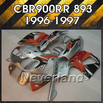 Fairing Kit Fits 1996-1997 Honda CBR900RR 893 Fireblade Injection ABS Bodywork
