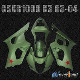 Bodywork Fairing kit For 2003 2004 Suzuki GSXR1000 GSXR 1000 K3 Injection 03 04