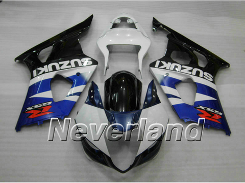 Fairing Bodywork Kit for 2003 2004 Suzuki GSXR1000 K3 Injection