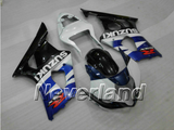 Fairing Bodywork Kit for 2003 2004 Suzuki GSXR 1000 K3 GSXR1000 Injection