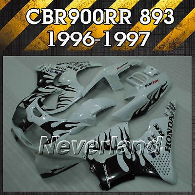 Fits 1996-1997 Honda CBR900RR 893 Fireblade Molding ABS Bodywork Fairing Kit NEW