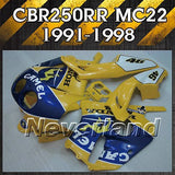 Fairing Kit for 1991-1998 Honda CBR250RR 91-98 95 96 97 MC 22 Injection Bodywork
