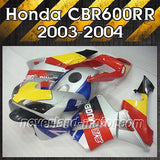 Fairing Kit Injection ABS Molding for Honda 03-04 CBR600RR F5 600RR 2003-2004