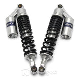 "2pcs 13.5"" 340mm Motor ATV Rear Shock Absorber Air Suspension Universal Sliver"