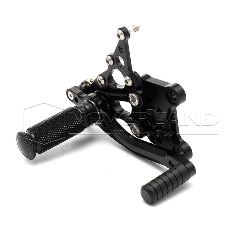 Adjustable Rear Set Foot Pegs Rearset Pedal For Aprilia RSV1000 R/Factory 04-08