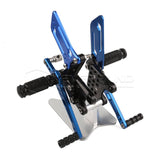 Rearset Rear Footpeg for Suzuki GSXR600/1000 00-04 GSXR750 SV650/S Black Blue