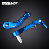 "7/8"" Brake Clutch Lever Protector Protection Guard for Suzuki Motorcycle Blue"