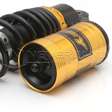 "2pcs 11"" 280mm Motorcycle Rear Shock Absorbers Air Suspension For Suzuki Yamaha"