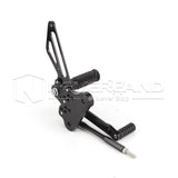 One Set Black Rearset Rear Set Foot Pegs For SUZUKI GSX1300R HAYABUSA 1999-2007