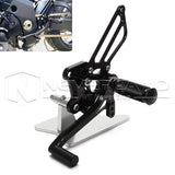 CNC Rear Set Foot Pegs Rearset For SUZUKI GSX-R1000/R750/R600 SV650/S 2003 2004
