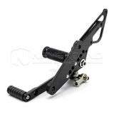 Black CNC Racing Footpegs Rearset Rear Set For Honda CB1300 03-13 08 09 10 11 12