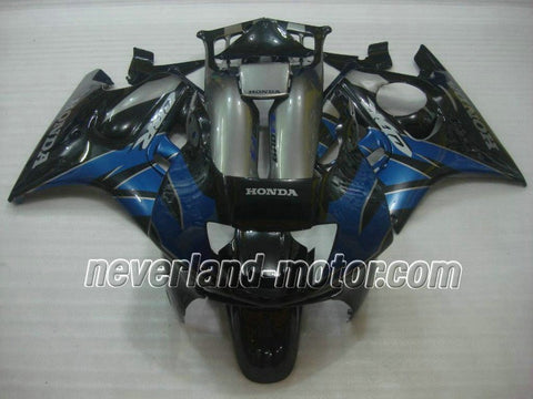 Honda CBR600 F3 1997-1998 ABS Fairing - Black/Blue