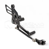 Race Rear Set Foot Pegs Rearset Black For MV Agusta F4 2010-2016 11 12 13 14 15
