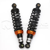 "Black Motorbike 11"" 280mm Rear Shock Absorber Gas Suspension Round For KTM BMW"