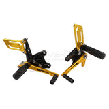 Rearset Rear Footpeg for Suzuki GSXR600/1000 00-04 GSXR750 SV650/S Black Gold K1
