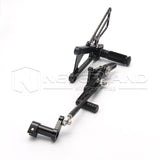 Rearset Foot Pegs Rear Set Adjustable For TRIUMPH DAYTONA 675/STREET TRIPLE 2012