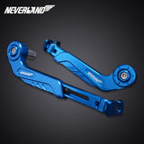 "CNC Aluminum 7/8"" Handlebar Brake Clutch Levers Protector Guards Neverland"