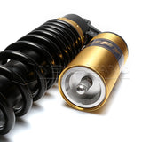"2pcs 15.75"" 400mm Motorcycle Shock Absorber Air Suspension For Yamaha Suzuki BMW"